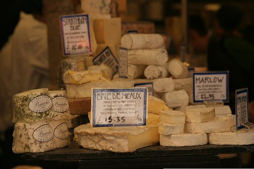A collection of smelly cheeses